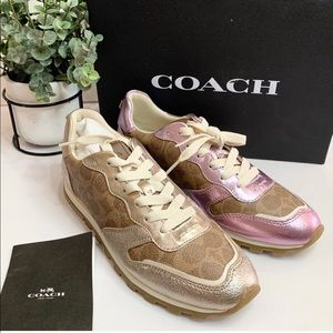 Coach C118 Woman signature Sneakers Mix Match pair